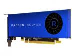 Radeon Pro WX 2100 - Graphics card - Radeon Pro WX 2100 - 2 GB GDDR5 - PCIe 3.0 x16 - 2 x Mini DisplayPort DisplayPort