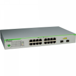 Telesis 16 Port Gigabit WebSmart Switch - 16 Ports - Manageable - 2 x Expansion Slots - 10/100/1000Base-T - Shared SFP Slot - 2 x SFP Slots - 2 Layer Supported - Wall Mountable Desktop Rack-mountableLifetime Limited Warranty