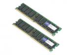 DDR2 - 8 GB: 2 x 4 GB - FB-DIMM 240-pin - 667 MHz / PC2-5300 - CL5 - 1.8 V - fully buffered - ECC - for Sun Blade T6320 Server Module