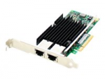 Intel X540T2 Comparable Dual RJ-45 Port PCIe NIC - Network adapter - PCIe x8 - 10Gb Ethernet x 2