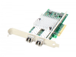 QLogic QLE3242-SR-CK Comparable PCIe NIC - Network adapter - PCIe x8 - 10GBase-SR x 2