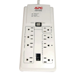 SurgeArrest Power-Saving Home/Office - Surge protector - AC 120 V - output connectors: 8 - white - for P/N: AR106SH4 AR106SH6 AR109SH4 AR109SH6 AR112SH4 AR112SH6