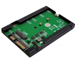 Drive Bay Adapter Internal - 1 x SSD Supported - 1 x Total Bay - 1 x 2.5 inch Bay