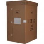 NETSHELTER SX 42U 600MM WIDE X 1200MM DEEP ENCLOSURE WITH SIDES BLACK -2000 LBS.