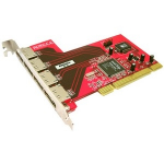 4-port SATA RAID Controller - PCI-X - 300MBps - 4 x 7-pin Serial ATA/300 - Serial ATA Internal