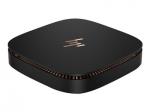Elite Slice - USFF - Core i5 7500T / 2.7 GHz - RAM 8 GB - SSD 128 GB - TLC HP Value - HD Graphics 630 - GigE - Win 10 Pro 64-bit - monitor: none - keyboard: US - Smart Buy