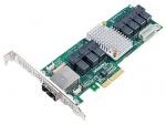 AEC-82885T Single 36Port 12Gb/s SAS/SAT RAID PCI-Expressx4 Low Profile Adapter Retail