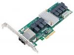 AEC-82885T Single 36Port 12Gb/s SAS/SAT RAID PCI-Expressx4 Low Profile Adapter Retail