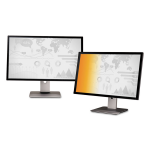 Gold Privacy Filter for 23 inch Widescreen Monitor - Display privacy filter - 23 inch wide - gold