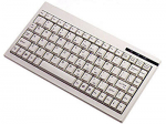 ACK-595 - MINI KEYBOARD WITH EMBEDDED NUMERIC KEYPAD (PS/2 WHITE)