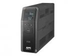 Back-UPS Pro BR - UPS - AC 120 V - 600 Watt - 1000 VA - USB serial - output connectors: 10 - black