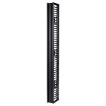 VALUELINE VERTICAL CABLE MANAGER FOR 2 & 4 POST RACKS 84INH X 6INW SINGLE-SID