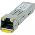 AT SPTX/I - SFP (mini-GBIC) transceiver module - GigE - 1000Base-T - RJ-45 - up to 328 ft