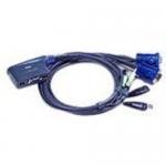 KVM / audio / USB switch - USB - 2 x KVM / audio / USB - desktop