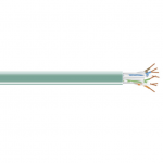 Box CAT5e Value Line Solid Cable CM 1000-ft. (304.8-m)  Green - Category 5e for Network Device - Patch Cable - 1000 ft - 1 x RJ-45 Male Bare Wire - 1 x RJ-45 Male Bare Wire - Green