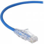 5FT BLUE CAT6A SLIM 28AWG PATCH CABLE 500MHZ UTP CM SNAGLESS