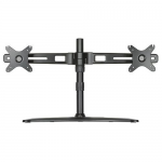 DUAL MONITOR STAND UP TO 27 IN FREESTANDING EASY INSTALLATION