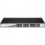 28 Port PoE Gigabit Smart Switch Including 4 Combo SFP Ports - 24 Ports - Manageable - 4 x Expansion Slots - 10/100/1000Base-T - 4 x SFP Slots - 2 Layer Supported - Desktop Rack-mountableLifetime Limited Warranty