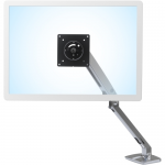 MXV Desk Monitor Arm - Desk mount for monitor (adjustable arm) - polished aluminum - polished aluminum - screen size: up to 34 inch