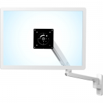 MXV Wall Monitor Arm - Wall mount for monitor (adjustable arm) - white - screen size: up to 34 inch
