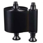 BLACK MONOCHROME RIBBON QUANTUM2 COMPATIBLE 3000 PRINTS PER ROLL PRICED PER ROLL