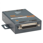 One Port Secure Serial (RS232/ RS422/ RS485) to Ethernet Gateway; Embedded Linux OS Support; SDK; International 110-240 VAC - Secure Ethernet terminal server for an RS-232/422/485 serial interface; Secure Ethernet for serial interface; convert serial to E