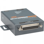 UDS1100 - One Port Serial (RS232/ RS422/ RS485) to IP Ethernet Device Server - UL864 US Domestic 110VAC - Convert from RS-232 RS-485 to Ethernet using Serial over IP technology; UL864 Compliant; Wall Mountable Rail Mountable One DB-25 Serial Port; One 10/
