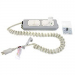 4-Outlets Medical Grade Power Strip - NEMA 5-15P - 4 NEMA 5-15R Hospital Grade - 8ft