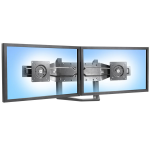 Dual Monitor & Handle Kit - Mounting kit (handle, 2 mounting brackets, bow mounting arm) for 2 LCD displays - black - screen size: up to 26 inch - wall-mountable - for P/N: 45-296-026, 45-304-026