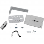 StyleView - Mounting kit (angle brackets mounting hardware VESA mount bracket P/L lockout hardware angle shelf) for scanner - white - side of a monitor