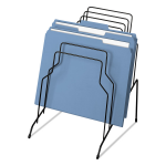WIRE STEP FILE WITH CONTEMPORARY DESIGN IS IDEAL FOR SORTING LETTER OR