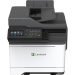 CX522ade Color Laser MFP (35 ppm) (2 GB) (1200 x 1200 dpi) (8.5 x 14) (Max Duty Cycle 85000 Pages) (p/c/s/f) (Duplex) (USB) (Ethernet) (Touchscreen) (250 Sheet Input) (50 Sheet ADF)