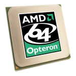 AMD Opteron 2218 Dual-Core processor - 2.6GHz (Santa Rosa 2x 1MB Level-2 cache 1.0GHz hypertransport (HT) 95 watt Thermal Design Power (TDP) socket F (1207-LGA))
