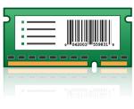 Bar Code Card and Forms Card - ROM - barcode forms - for Lexmark CX510de CX510dhe CX510dthe CX517de CX622ade CX625ade CX625adhe XC2132