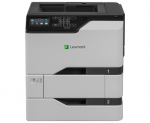 CS720dte Color Laser Printer (40 ppm) (1.2 GB) (Duty Cycle 120000 Pages) (Duplex) (USB) (Ethernet) (Touchscreen) (2 x 550 Sheet Input Tray) (100 Sheet MPT) (Direct Ship from Mfr)