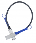 Network Cable - for Network Device - 13.12 ft - 1 x SFF-8436 QSFP - 1 x SFF-8436 QSFP