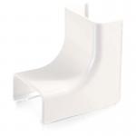 Wiremold Uniduct 2900 Internal Elbow - White - Elbow - White - Polyvinyl Chloride (PVC)