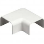 Pan-Way LD Surface Raceway - Cable raceway right angle fitting - electric ivory