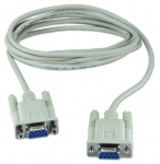 Null modem cable - DB-9 Female Serial - DB-9 Female Serial - 10ft
