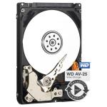 WD AV-25 - Hard drive - 1 TB - internal - 2.5 inch - 5400 rpm - buffer: 16 MB