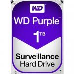 WD TDSourcing Purple Surveillance Hard Drive - Hard drive - 1 TB - internal - 3.5 inch - SATA 6Gb/s - 5400 rpm - buffer: 64 MB