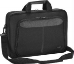 Intellect Carrying Case Sleeve with Strap for 12.1 inch Notebook Netbook - Black - Nylon - Shoulder Strap