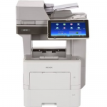 MP 501SPF - Multifunction printer - B/W - laser - Legal (8.5 in x 14 in) (original) - Legal (media) - up to 52 ppm (copying) - up to 52 ppm (printing) - 600 sheets - 33.6 Kbps - Gigabit LAN USB 2.0 host