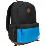 Strata - Notebook carrying backpack - 15.6 inch - black blue