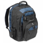 17 inch XL Laptop Backpack - Notebook carrying backpack - 17 inch - black blue