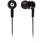 HA100 Earphone - Stereo - Black - Mini-phone - Wired - 32 Ohm - 20 Hz 20 kHz - Earbud - Binaural - Open - 3.94 ft Cable