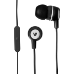 Stereo Earbuds with Inline Microphone - Stereo - Black - Mini-phone - Wired - 32 Ohm - Earbud - Binaural - In-ear - 3.94 ft Cable