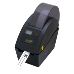 WHC25 Direct Thermal Printer - Monochrome - Desktop - Wristband Print - 2.05 inch Print Width - 5 in/s Mono - 203 dpi - USB - Ethernet - LCD