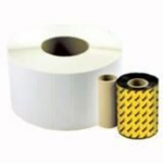 eXtra - 4.3 in x 820 ft - print ribbon - for Wasp WPL308 WPL408 WPL606 WPL606EZ WPL614 WPL618