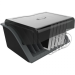 10-DEVICE DESKTOP AC CHARGING STATION WITH SURGE PROTECTOR FOR TABLETS LAPTOPS